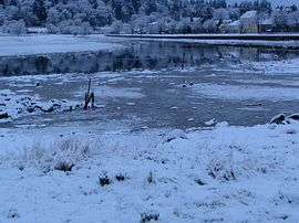 Lochgilphead in winter