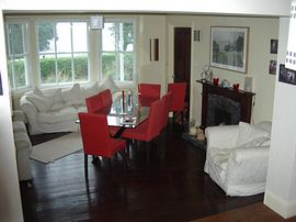 One of guest dining rooms