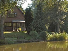 Rear view of the House from the lake