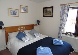 A double bedroom at Cheshire House B&B