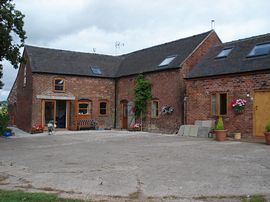 Front of the Barns