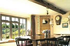 The Breakfast Table at Fishers Fram