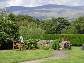 View from garden over Pennines