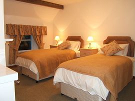 Tolquhon Twin Room